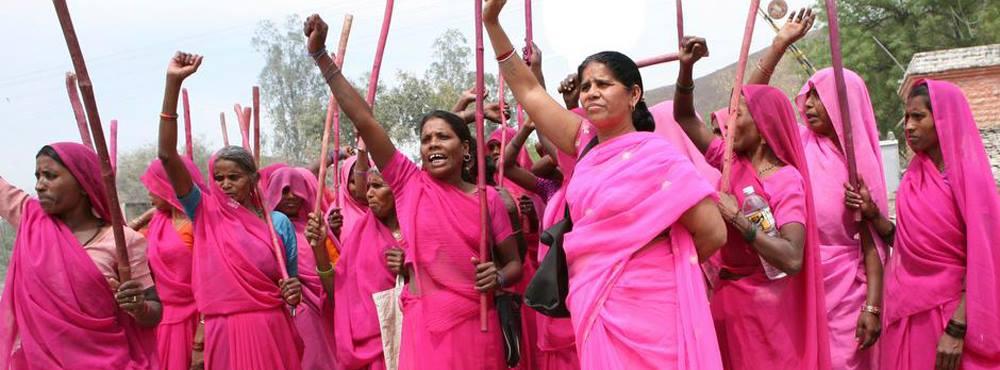 The Gulabi gang kvindernes kampdag