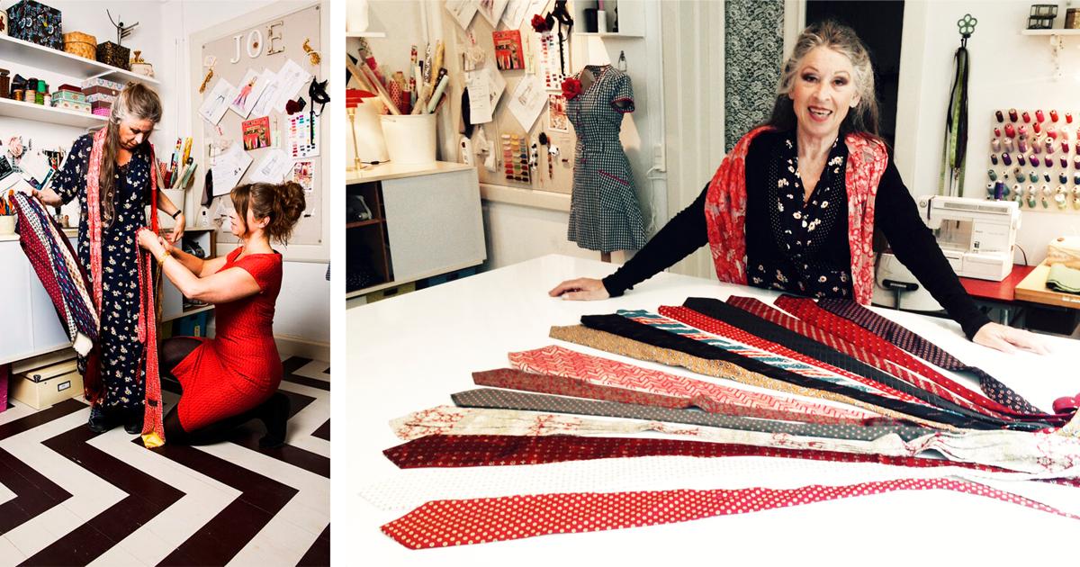 c4e346c9 Re-desing: Lav din egen upcycled silkeslipse-nederdel - Ecouture