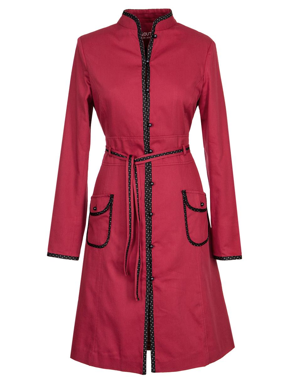 rød frakke tilbud
