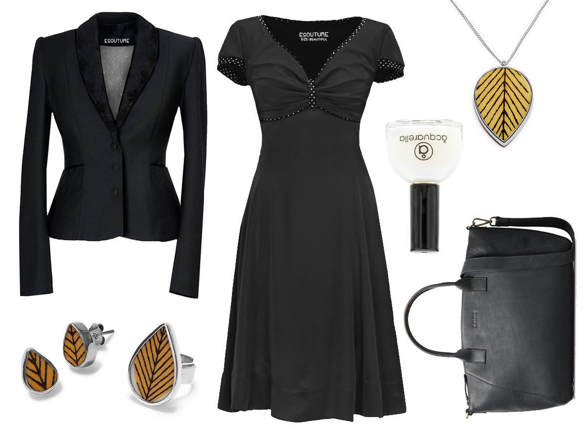012c415fa414 Så kan du pifte outfittet op med nogle mere farverige smykker. Vi har her  stylet outfittet med gule porcelænsmykker