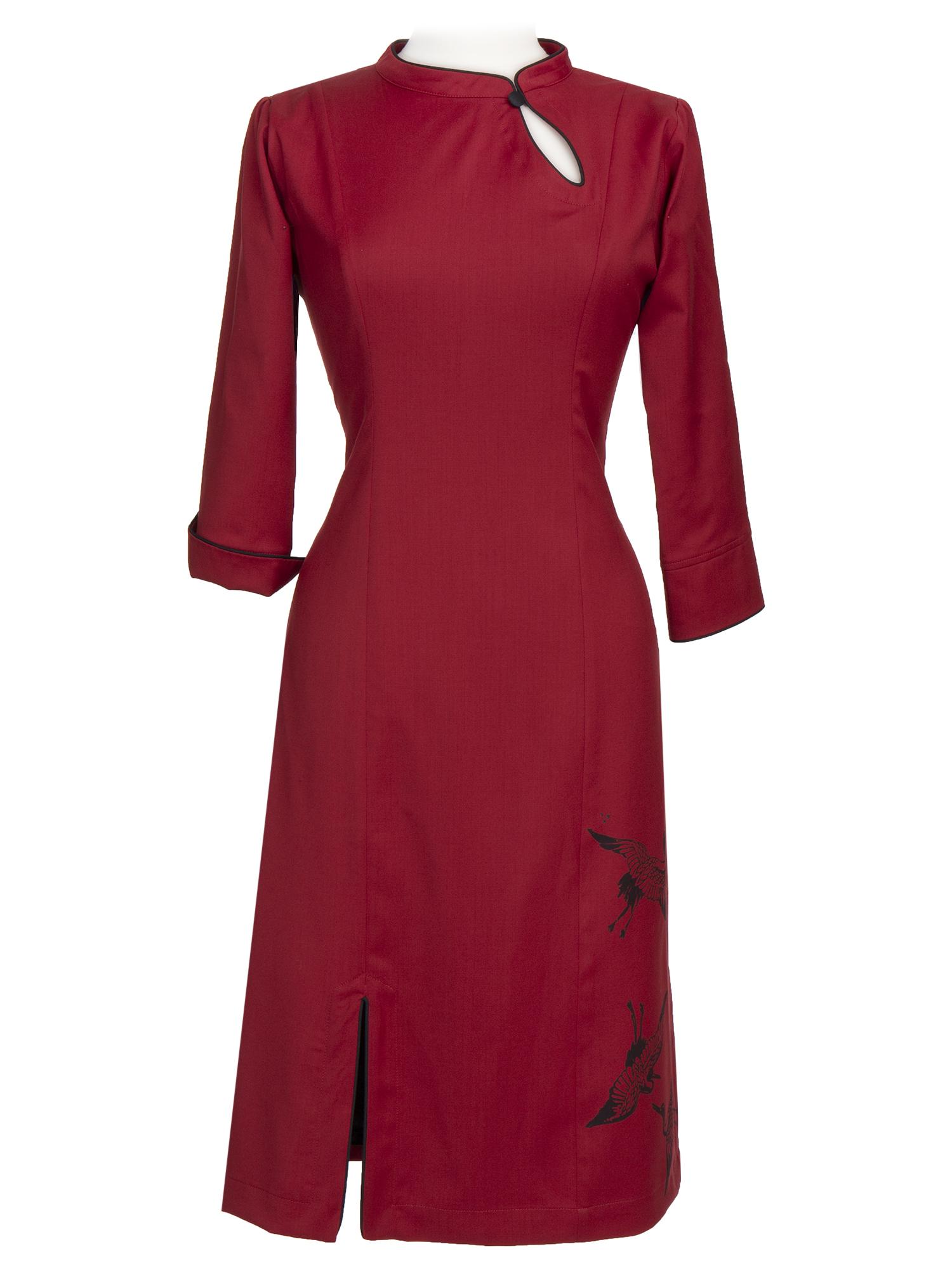 10ac3711c89c Sia - Rød kjole - Ecouture